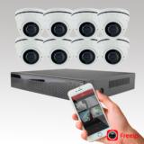 SecVision NVR Pakke med 2 kameraer